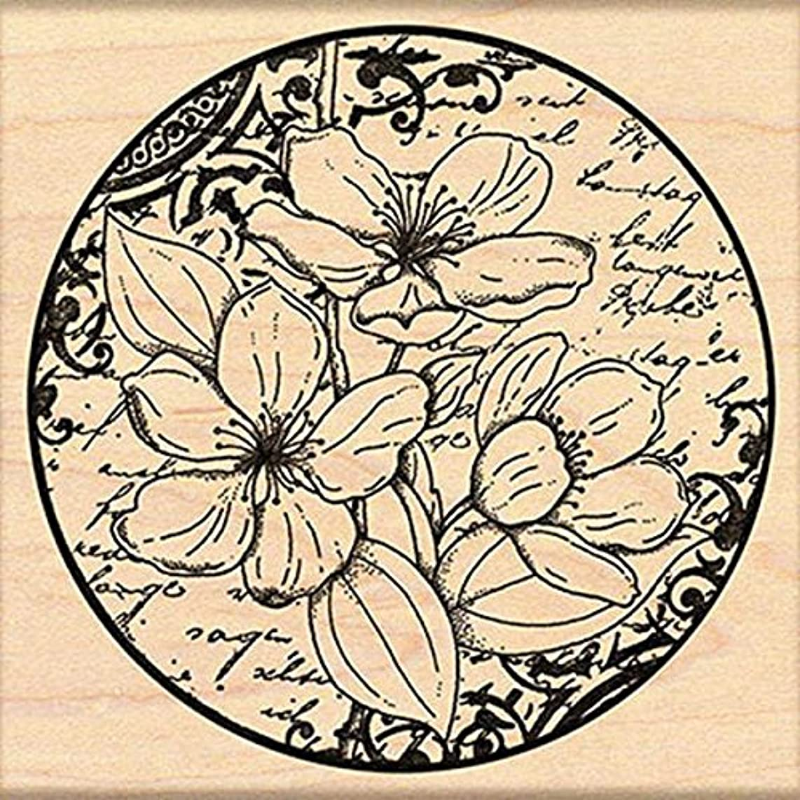 Penny Black Decorative Rubber Stamps, Flower Poetry