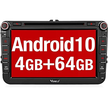 Vanku Android 10 Autoradio Für Vw Radio Mit Navi Elektronik