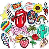 Patch Sticker, Muscccm 20 pcs Parches Ropa Termoadhesivos DIY Coser o Planchar...