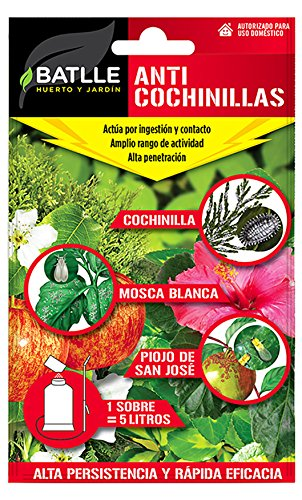 Semillas Batlle 730082BOLS Insetticida Anti cocciniglia, per 5l