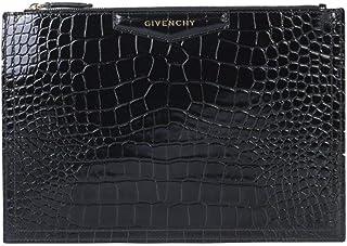 Givenchy Women's BB609CB0LK001 Black Leather Clutch