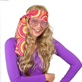 70er cinta para el pelo de flores hippie años diadema 60er años de paz con disfraces de pelo de la cinta de la cabeza de disfraces de carnaval de accesorios de la joyería de fiesta