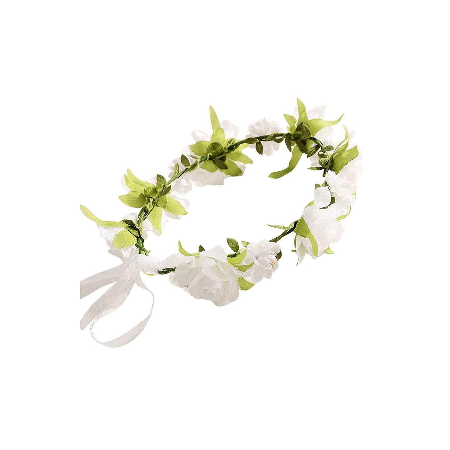 Kid Head Wreath For Girls Hair Headband Flower Crown Wedding Garland Forehead Hair Accessories Children Handmade Band,D
