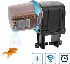 Lychee Aquarium Alimentador automático, Temporizador controlado por WiFi con Pantalla LCD para Tanque de Peces Estanque Vacaciones