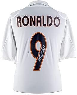 Ronaldo Luis Nazario de Lima Signed Real Madrid Soccer Jersey 2004-05