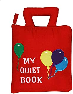 Pockets of Learning My Quiet Book, Activity Busy Book for Toddlers and Children, Original Quiet Book