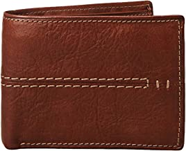 Relic by Fossil Men's Traveler Wallet, Channel Brown, One Size