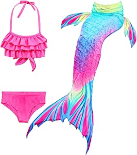 comprar comparacion Hejin Cola de Sirena con ala Ideal para Nadar para Niños