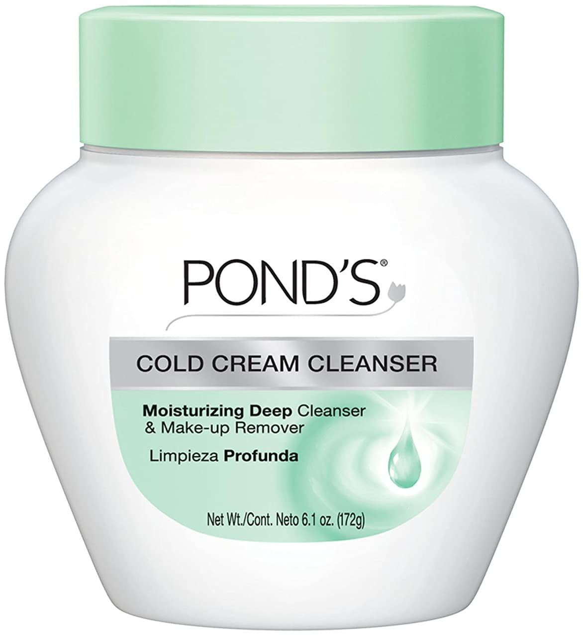 押し下げる名誉ある学んだPond's Cold Caem The Cool Classic Deep Cleans & Removes Make-Up 170g (並行輸入品)