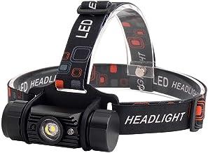 QSCTYG Hoofd Torch LED Inductie Koplamp 1000LM Bewegingssensor Koplamp Oplaadbare Hoofd Zaklamp Camping Zaklamp 348