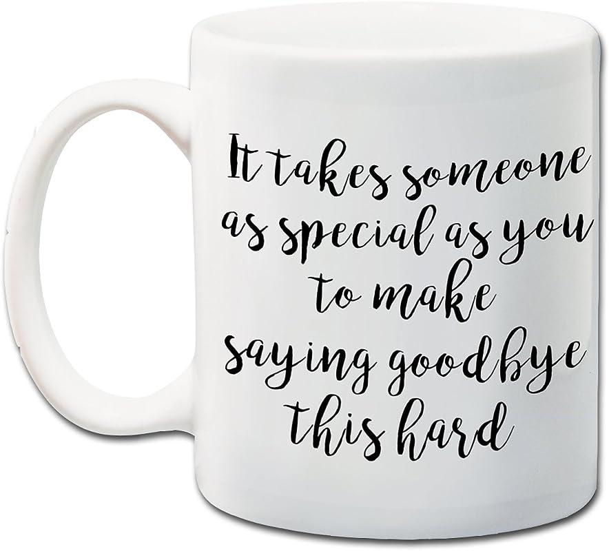 Goodbye Mug Saying Goodbye Gift Moving Away Gift Going Away Present 11 Oz Coffee Mug