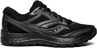 Saucony Women's VERSAFOAM Cohesion 12 Road Running Shoe, Black, 10 M US