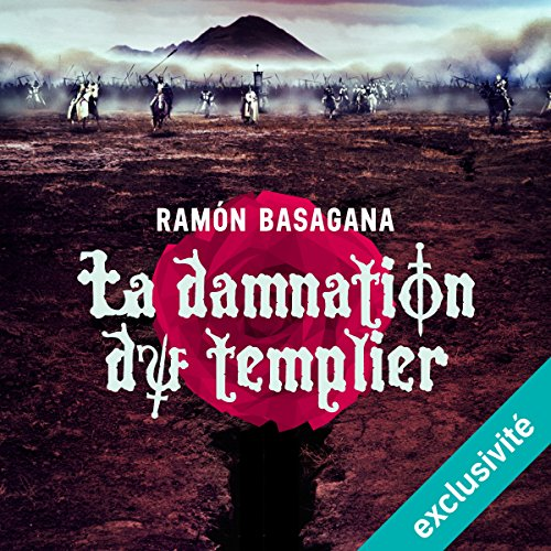 La damnation du templier audiobook cover art