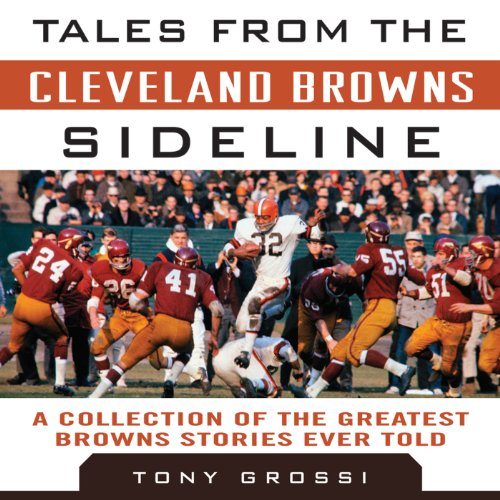 Tales from the Cleveland Browns Sideline audiobook cover art