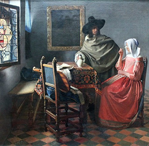 Grafika Vermeer Johannes, 1659-1660