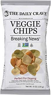 The Daily Craved Veggie Chips, 170 g