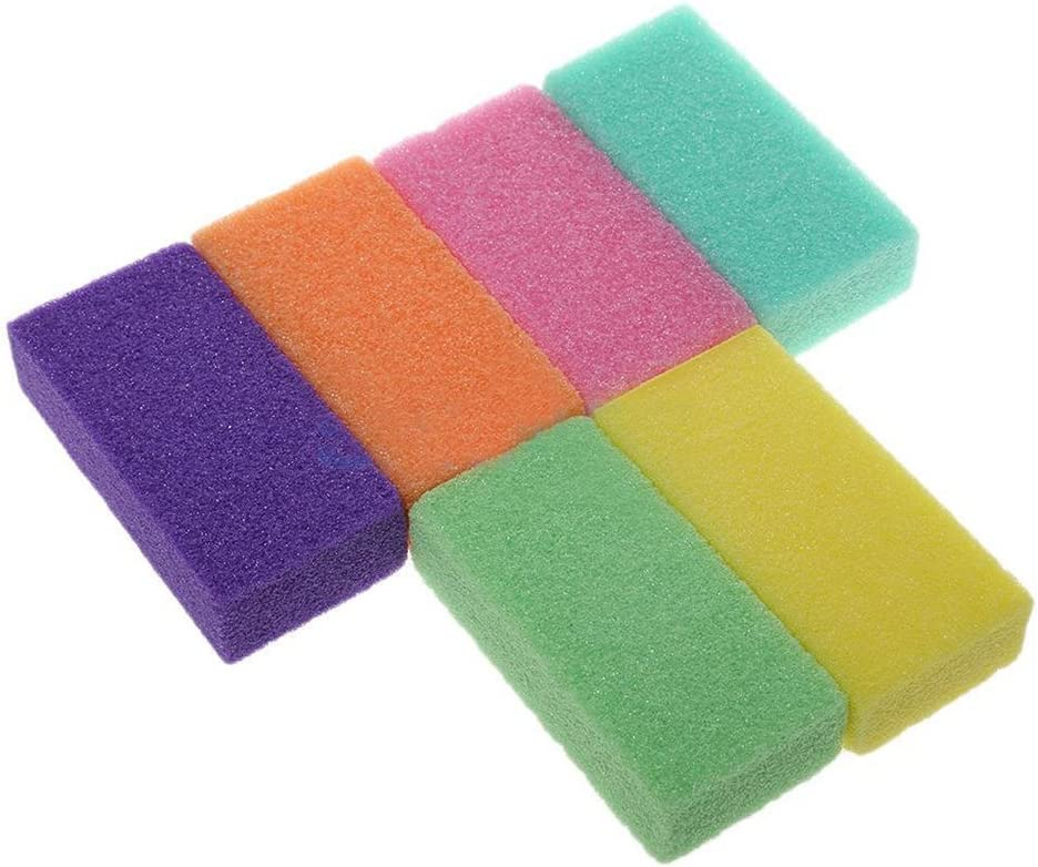 Pumice Max 46% OFF Stone 1 Pack New item Foot To Pedicure Perfect Sponge