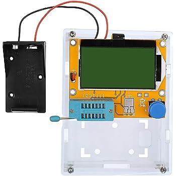TOOGOO Mega328 Probador de transistor Medidor ESR de capacitancia LCR PWM TFT LCD Generador DIY