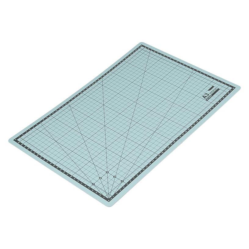 Cutting Board, A3 Foldable PVC Cutting Board Self-Healing Cut Mat Thick Flexible Paper Cutting Mat with Grid Lines DIY Craft Tool