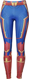 Lichee Womens 3D Superhero Compression Yoga PantsFilm Tight Leggings Cosplay Pants