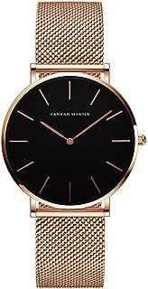 Women's Quartz Watch, Gold Dress, Silver Bracelet, Stainless Steel Women's Watch,E
