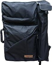 "Artoop Water-resistant Artist Portfolio Backpack Tote Bag for Art Storage and Traveling Size 26""x19"" Black Color"