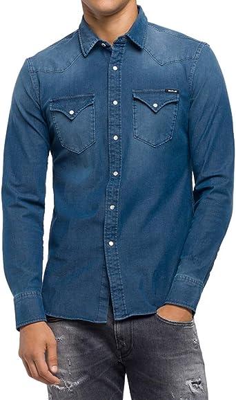 REPLAY Camisa Vaquera para Hombre
