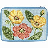 Cosmetic Purse - Buttercups - Needlepoint Kit