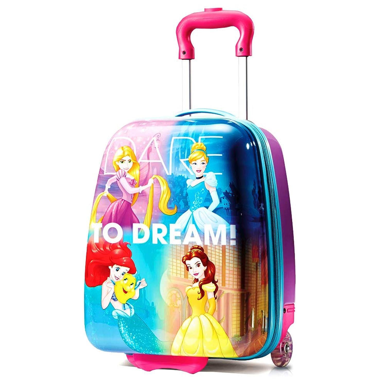 ディズニー プリンセス キャリーバッグ ハード スーツケース キッズ American Tourister (アメリカンツーリスター) [並行輸入品]