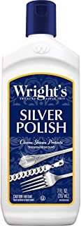 Wright's Silver Cleaner and Polish - 7 Ounce - Ammonia Free - Use on Silver, Jewelry, Antique Silver, Gold, Brass, Copper and Aluminum