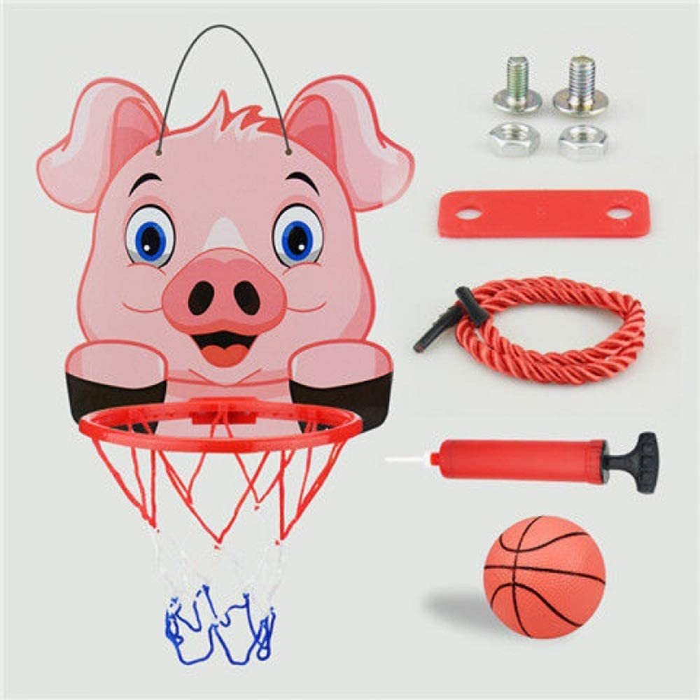 Animal Hanging Basketball Stand Sports Toys Indoor Outdoor Basketball Hoop IT