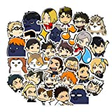 Cute Haikyuu!! Stickers for Laptop Teens Japanese Cartoon Anime Water Bottles Hydroflasks Computer Phone Bike Bumper Waterproof Decals 40pcs