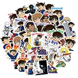FUYUNDA Serie Detective Conan/Paquete de Pegatinas Coloridas Pegatinas Impermeables para portátil/Bonitas Pegatinas de Vinilo estéticas/Pegatina Favorita de Moda/Bolso de OPP
