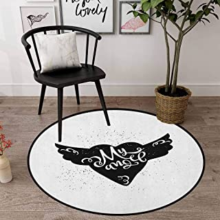 Round Area Rugs Super Soft Living Room Bedroom Home Shaggy Carpet 31