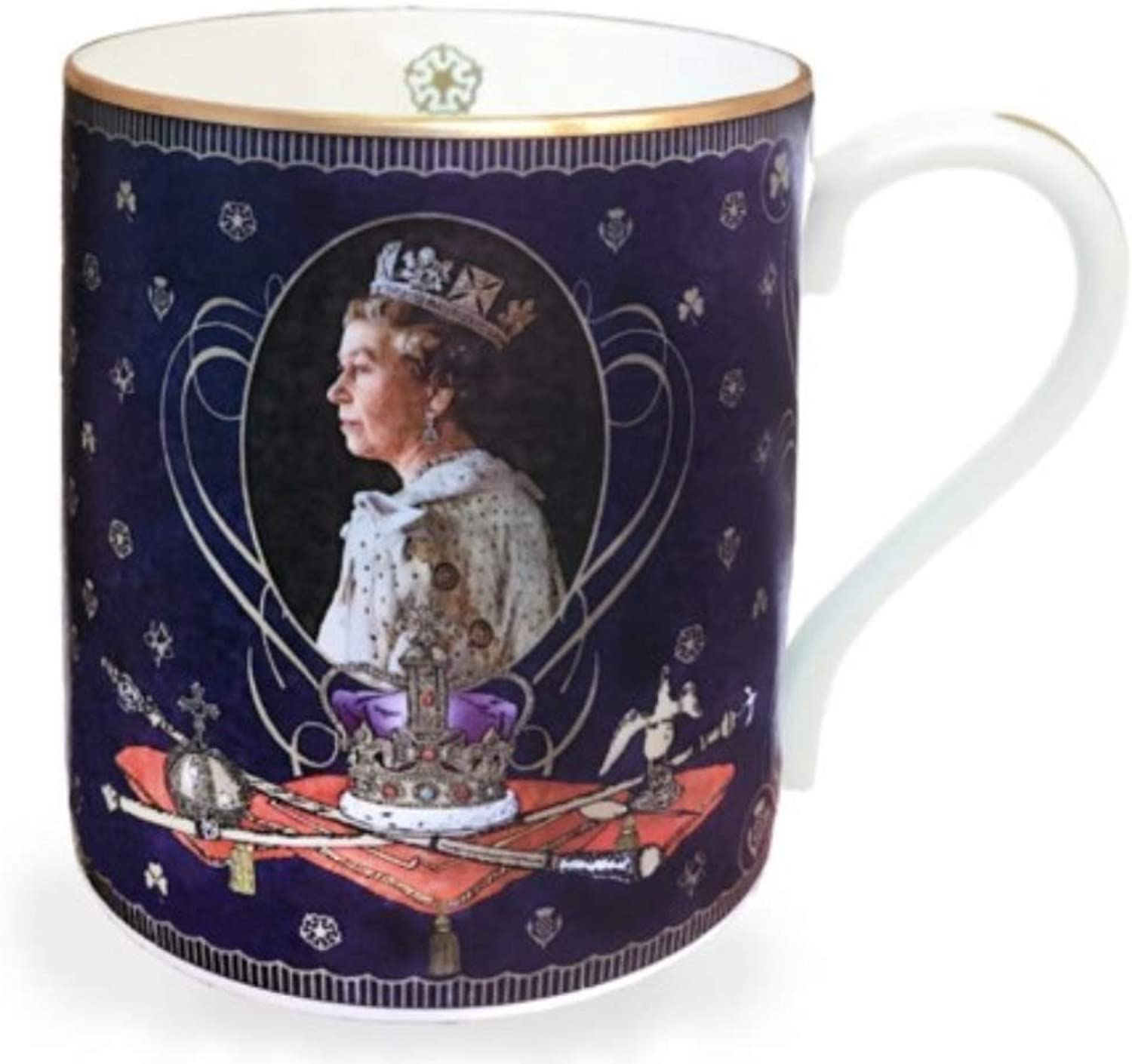 Royal Family Gifts Queen Elizabeth Coffee Mugs Coffee Cup Teacup Tea Mug Gifts for Mom