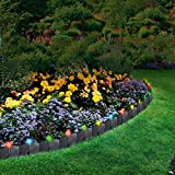 Parkland 24 Pack 3.6 m LED Light Up Garden Lawn Edging