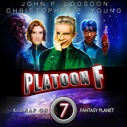 Kidnap on Fantasy Planet audiobook cover art