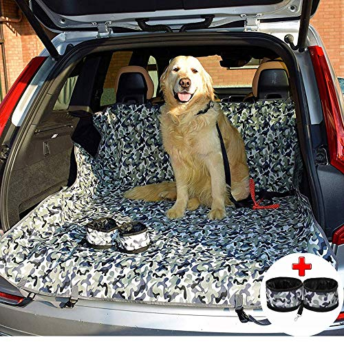 Coprisedile Auto Per Cani - Telo Auto Universale Antimacchia Antigraffio Per Sedile Posteriore Baule - Copri Sedile Auto Per...