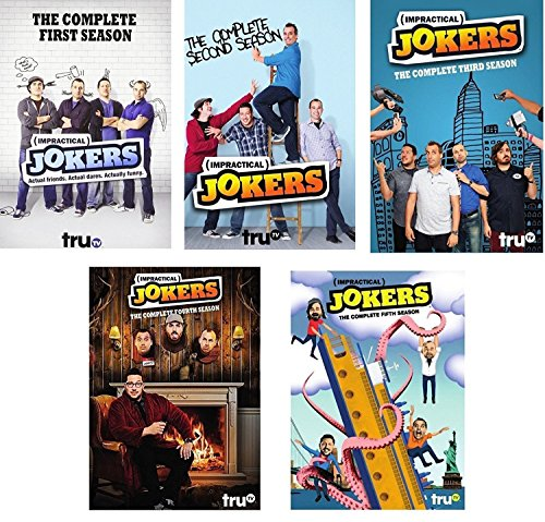 Impractical Jokers: The Complete Series Seasons 1-5 DVD NEW 1 2 3 4 5