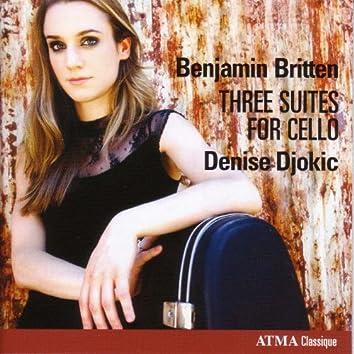 Britten, B.: Cello Suites Nos. 1-3