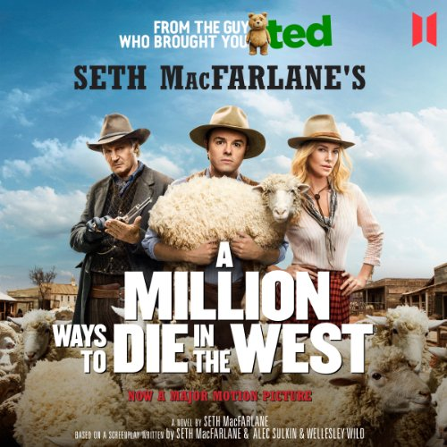 A Million Ways to Die in the West cover art