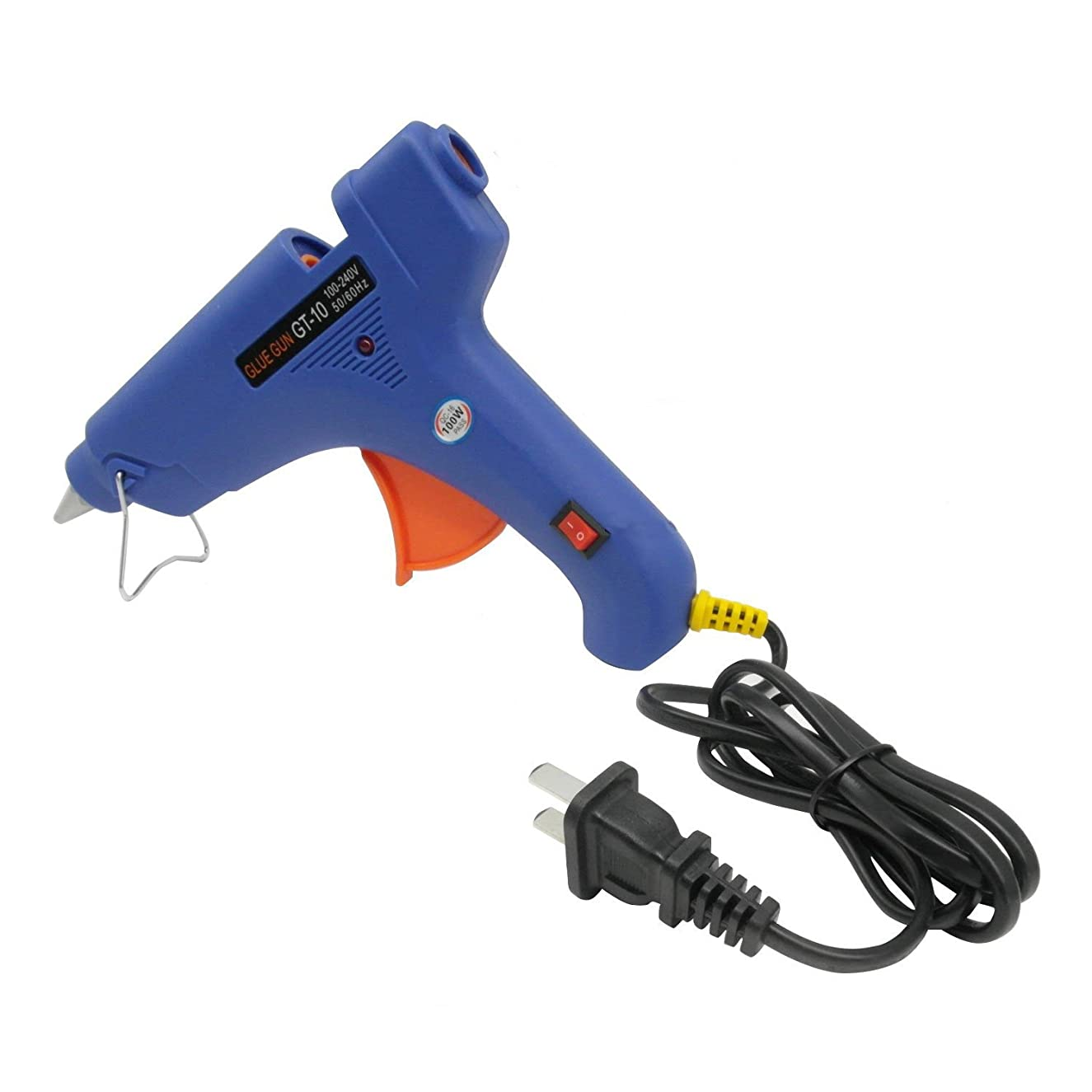 TrendBox Hot Melt Glue Gun 100W 11mm Safety LED Light Indicator Melting Adhesive Handmade Craft DIY Home Office Project Fix & Repairs Items
