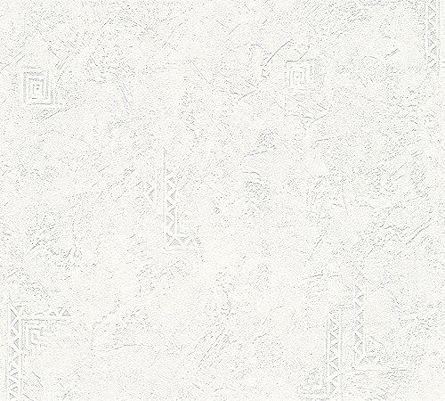Vliestapete Überstreichbar Tapete Putzstruktur AS Creation 3214-11
