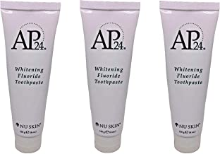 Nu Skin CMbCci Ap 24 Whitening Fluoride Toothpaste, 4 oz, 3 Pack