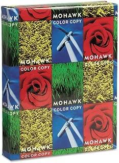 Mohawk 36213 Copier Gloss Cover Paper, 100lb, 94 Brightness, Letter, Pure White, 250 Shts