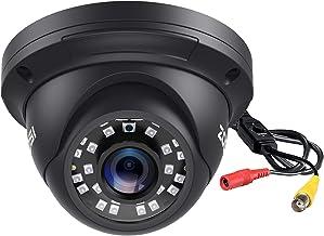 ZOSI 2.0MP FHD 1080p Dome Camera Housing Outdoor Indoor (Hybrid 4-in-1 CVI/TVI/AHD/960H Analog CVBS),24PCS LEDs,80ft IR Ni...