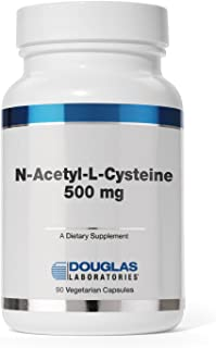 Douglas Laboratories - N-Acetyl-L-Cysteine 500 mg - Glutathione Precursor for Antioxidant Protection* - 90 Capsules
