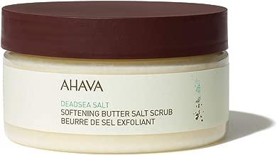 AHAVA Softening Butter Dead Sea Salt Scrub, 7.5 Oz