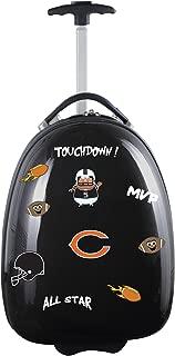 """NFL Kids Lil' Adventurer Luggage Pod, Unisex, NFL Chicago Bears Kids Lil' Adventurer Luggage Pod, Black, NFCHL601_Black, Black, 18"""""""