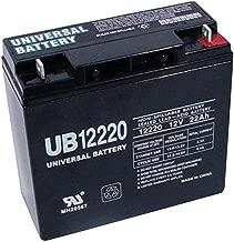 Universal Power Group 12V 22Ah SLA Battery Replaces CB19-12, ES1217, UB12200, LC-RD1217P